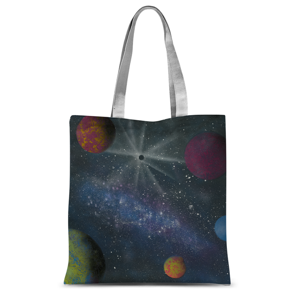 Galaxy by Parr Josephee Classic Sublimation Tote Bag