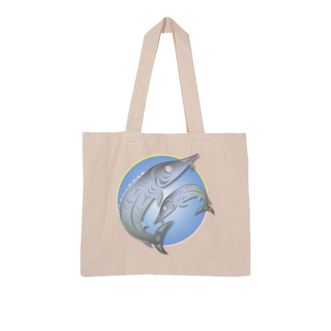 Sturgeon by Ovila Mailhot Large Organic Tote Bag