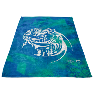 Otter Fleece Blanket by Miigizi