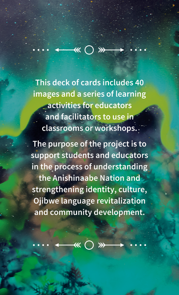 Learning with Animals (Ojibwe) Card Deck