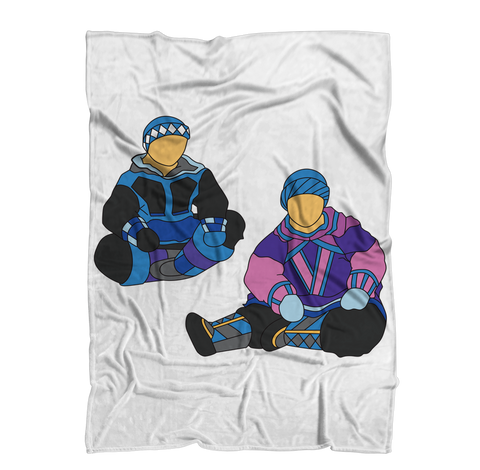 Inuit by Alexander Angnaluak Premium Sublimation Adult Blanket