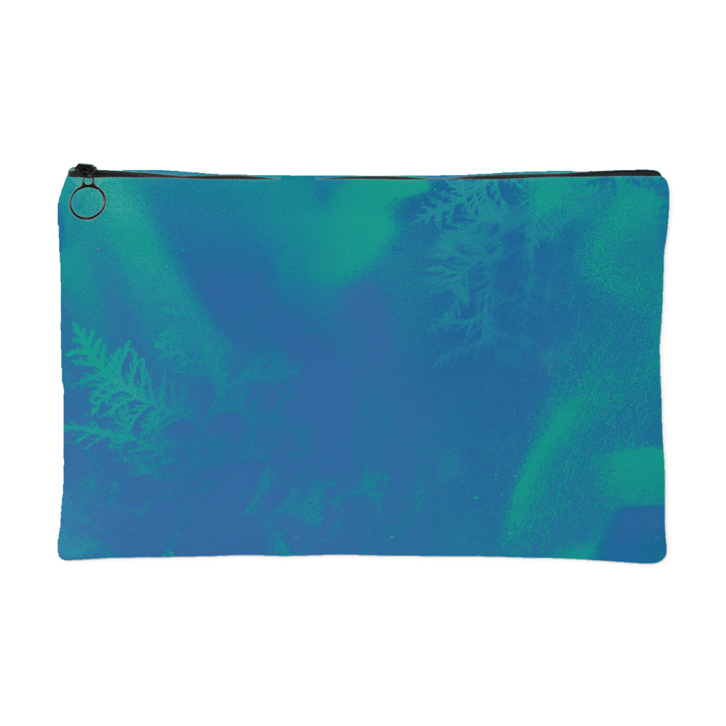 Blue/Green Accessory Pouch by Miigizi