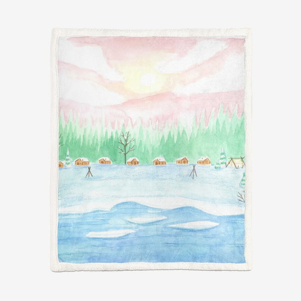Sunrise by Cynthia Landry Supersoft Blanket