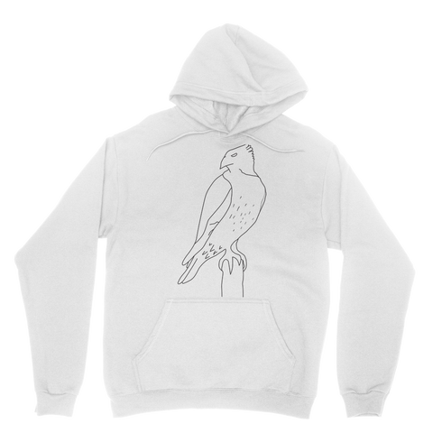 Red Tail Hawk by Parr Josephee Classic Adult Hoodie