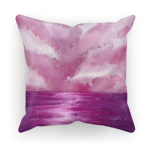 Rose Water by Parr Josephee Sublimation Cushion Cover