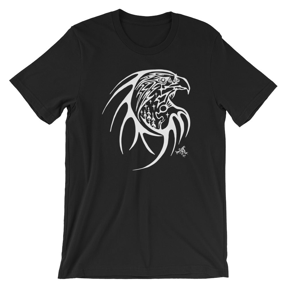Eagle Short-Sleeve Unisex T-Shirt by Miigizi