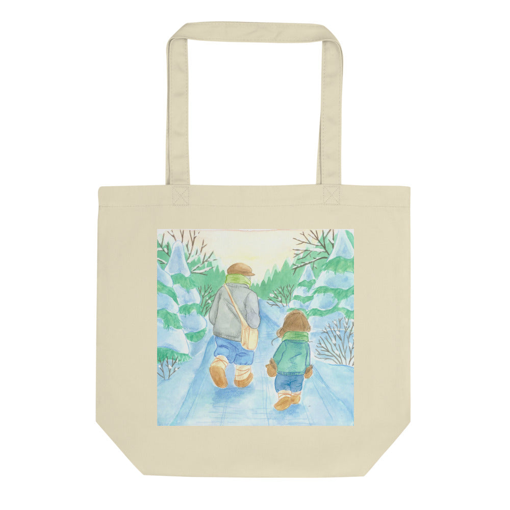 Winter Walk by Cynthia Landry Tote Bag