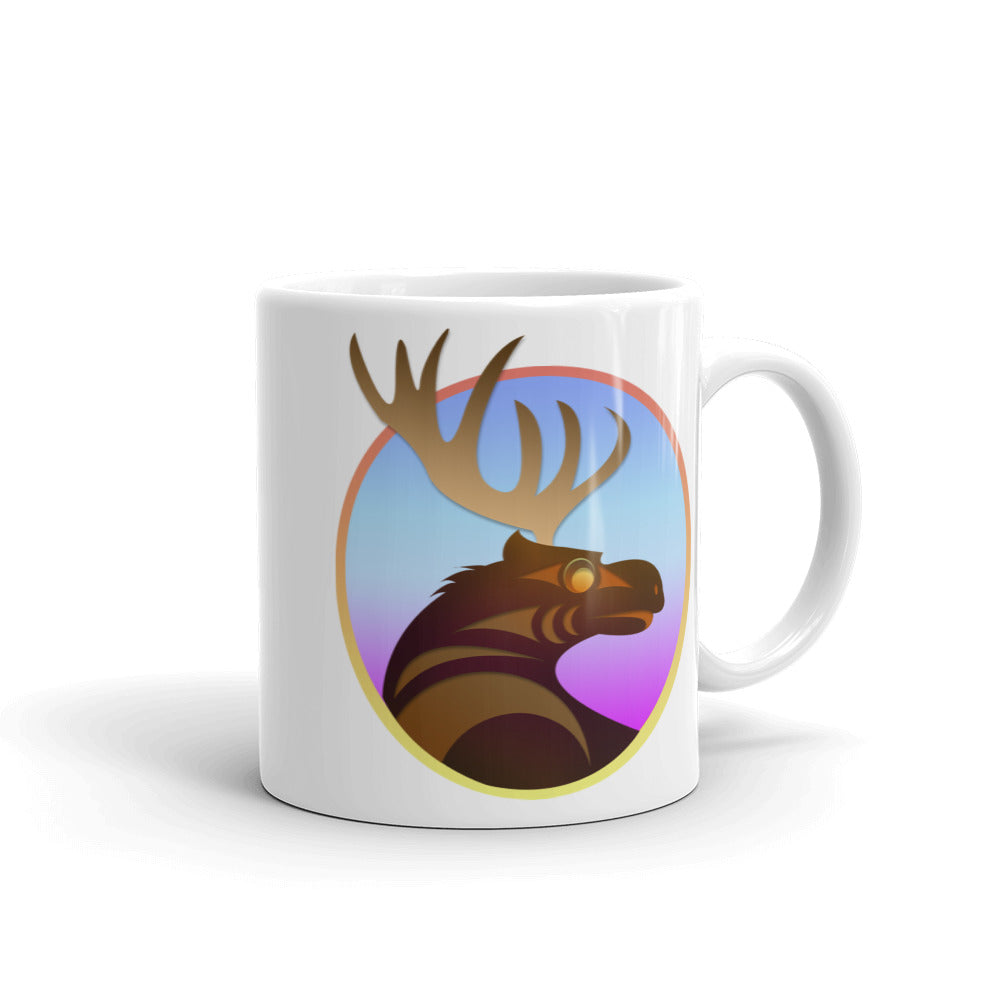 Moose by Ovila Mailhot Mug