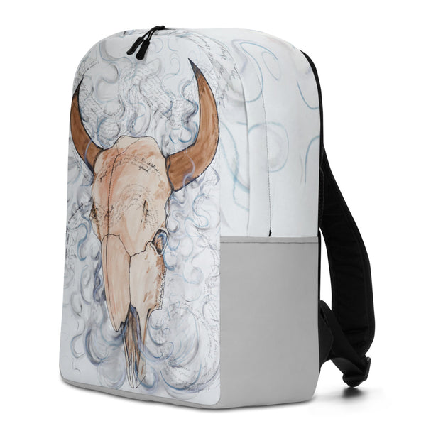 Smudge Poem Backpack by Kevin Wesaquate