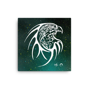 Eagle Canvas Print by Miigizi
