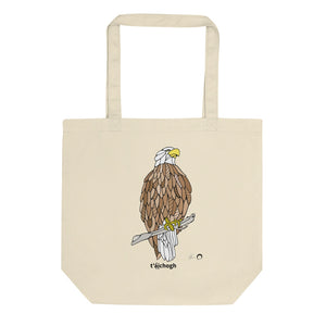 Eagle Tote Bag by Nicole Josie