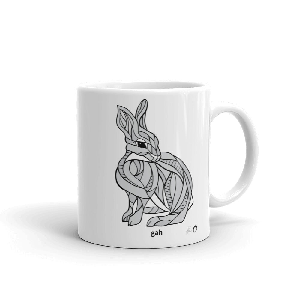 Rabbit Mug by Nicole Josie