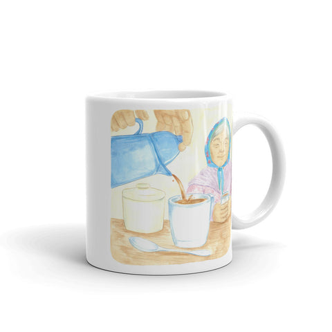 Morning Coffee by Cynthia Landry Mug