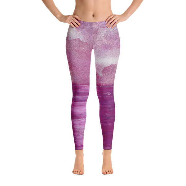 Rose Water by Parr Josephee Leggings