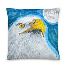 Eagle Pillow by Kevin Wesaquate