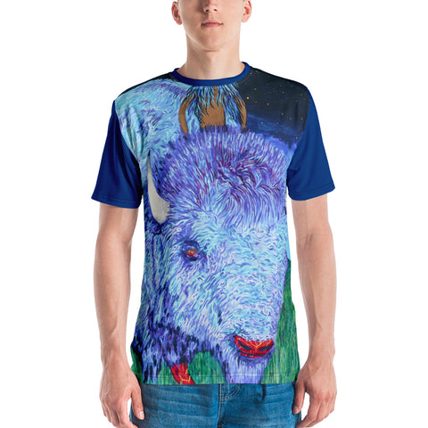 """Mistassini The Boy""  Men's All-Over T-Shirt by Kevin Wesaquate"