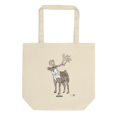 Caribou Tote Bag by Nicole Josie