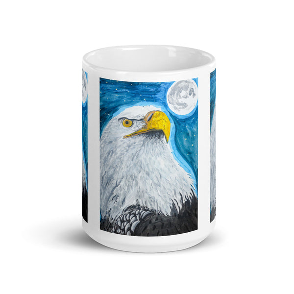 Eagle Mug by Kevin Wesaquate