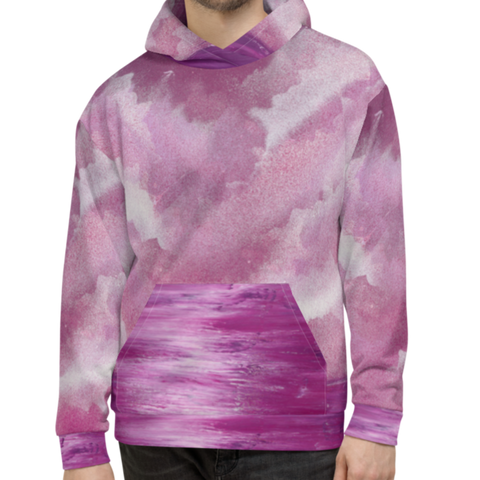 Rose Water All-over Print Unisex Hoodie