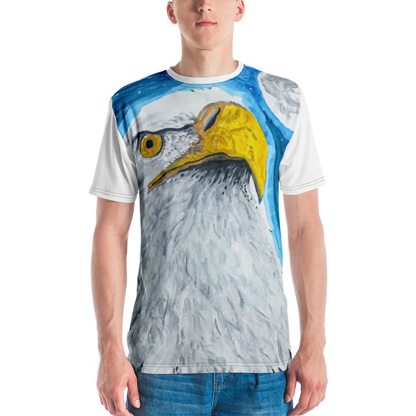 Eagle Men's All-Over T-shirt by Kevin Wesaquate