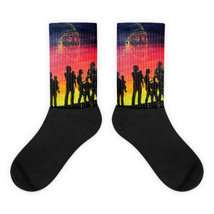 Longwalkers' Socks by Kevin Wesaquate