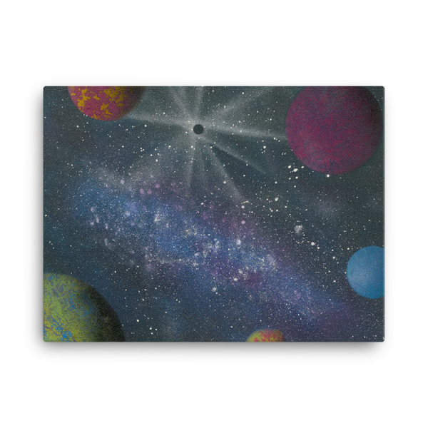 Galaxy by Parr Josephee Canvas Print