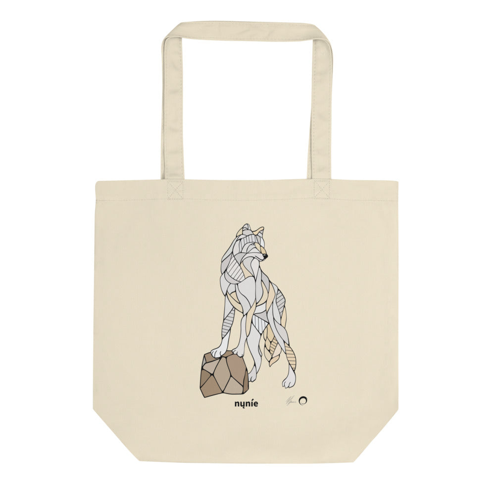 Wolf Tote Bag by Nicole Josie