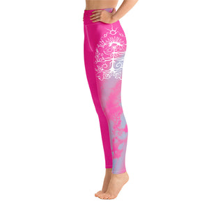 Wild Bergamot Yoga Leggings by Miigizi