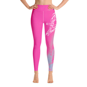 Hummingbird Yoga Leggings by Miigizi