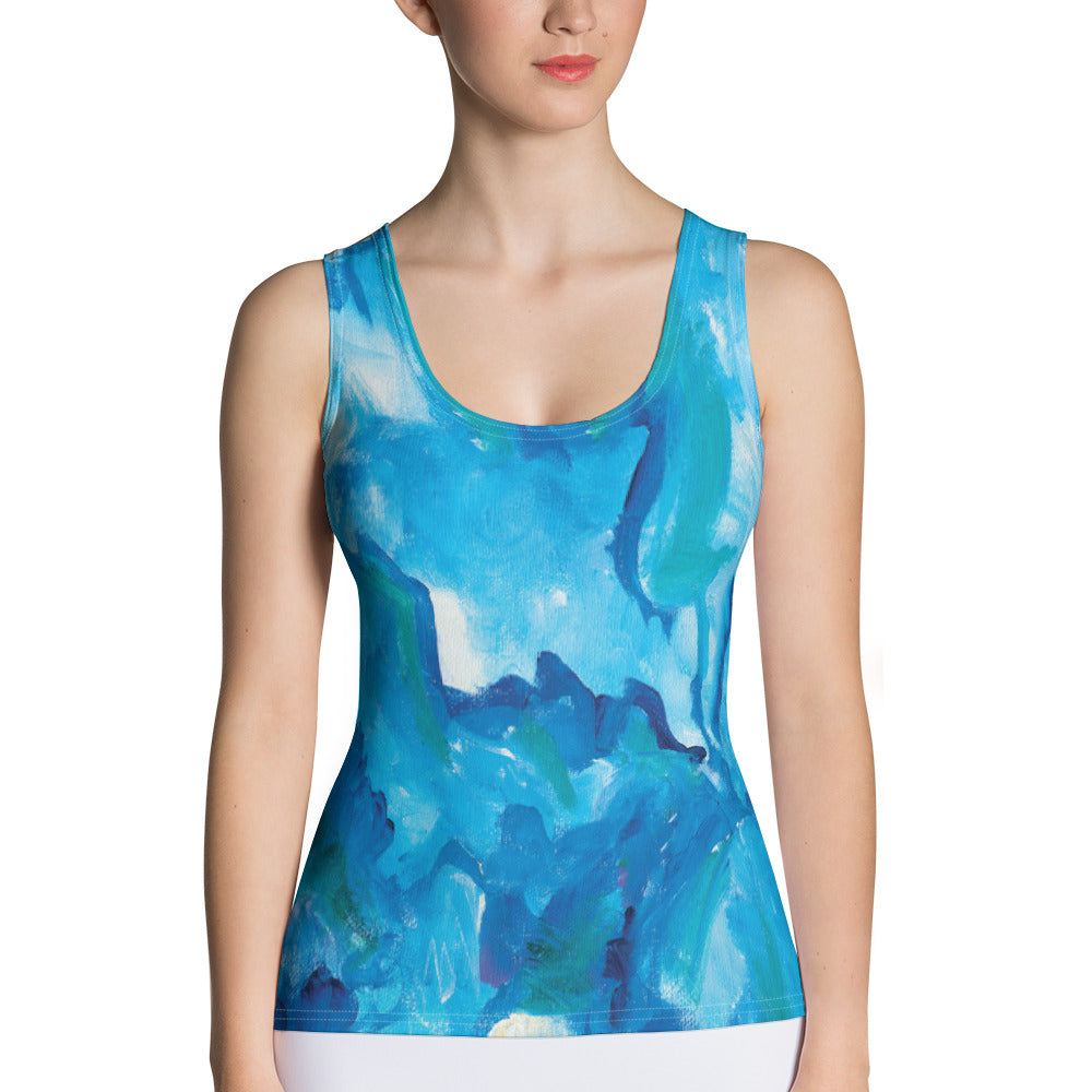 Blue TakingITGlobal Tank Top