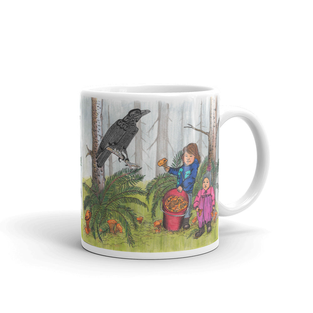 Forest Friendship by Lynn Hughan Mug