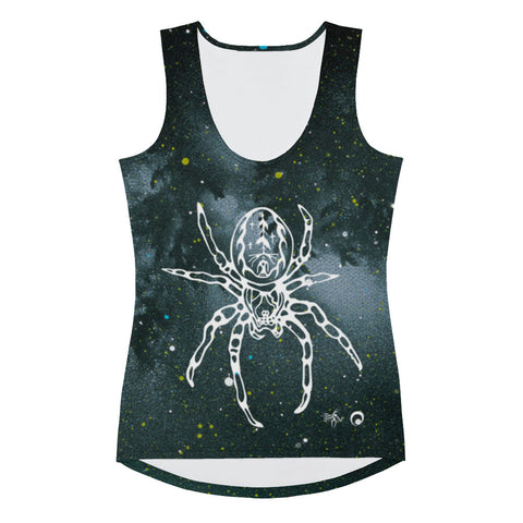 Spider Women's Tank Top by Miigizi