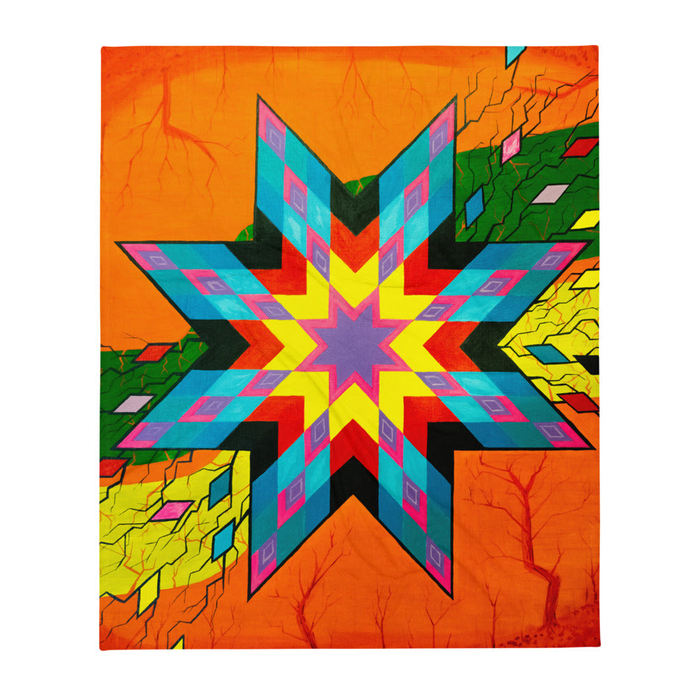 Dream Throw Blanket by Kevin Wesaquate