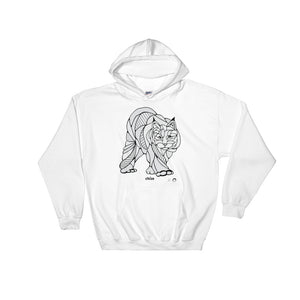 Lynx Hooded Sweatshirt by Nicole Josie
