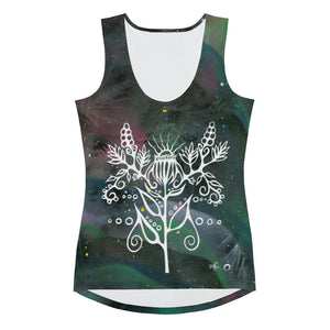 Purple Coneflower Women's Tank Top by Miigizi