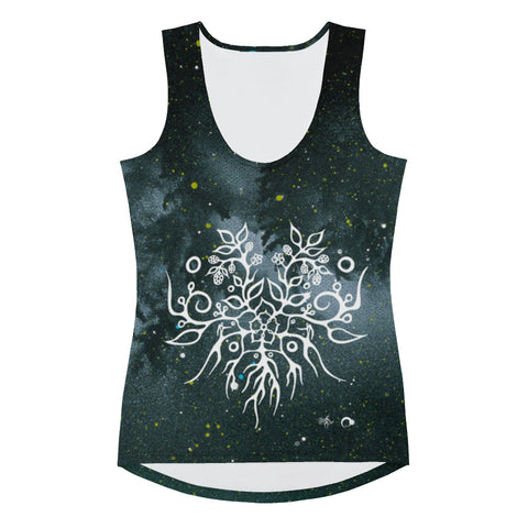 Blackberry Women's Tank Top by Miigizi