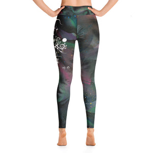 Tobacco Yoga Leggings by Miigizi