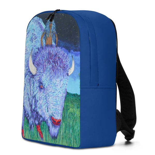 Bison Night Rider Backpack by Kevin Wesaquate