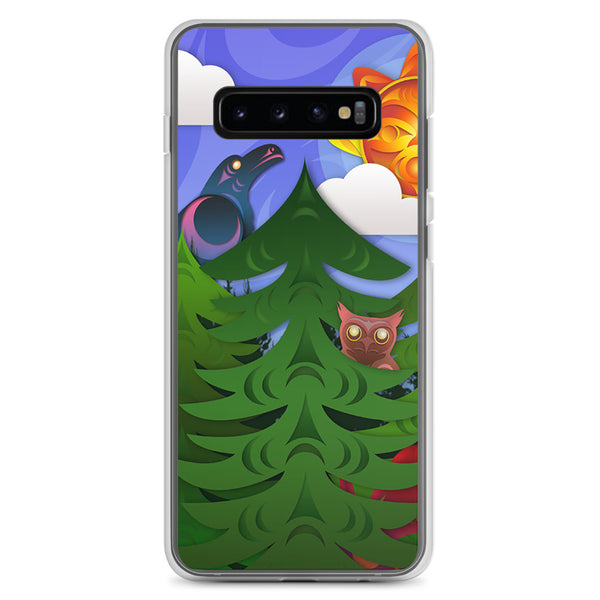 Forest Friends by Ovila Mailhot Samsung Case
