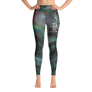 Sweet Grass Yoga Leggings by Miigizi
