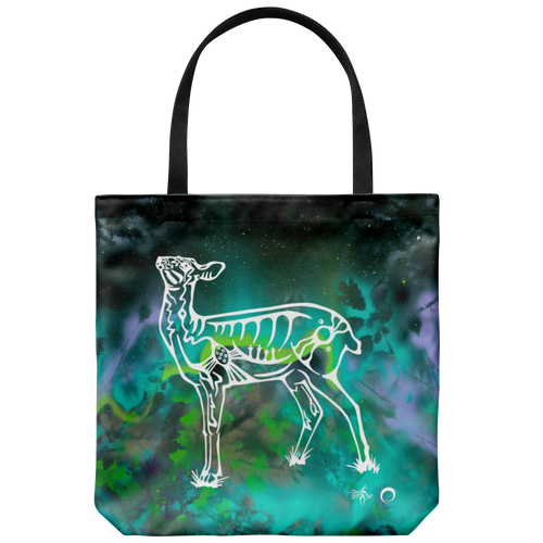 Deer Tote Bag by Miigizi