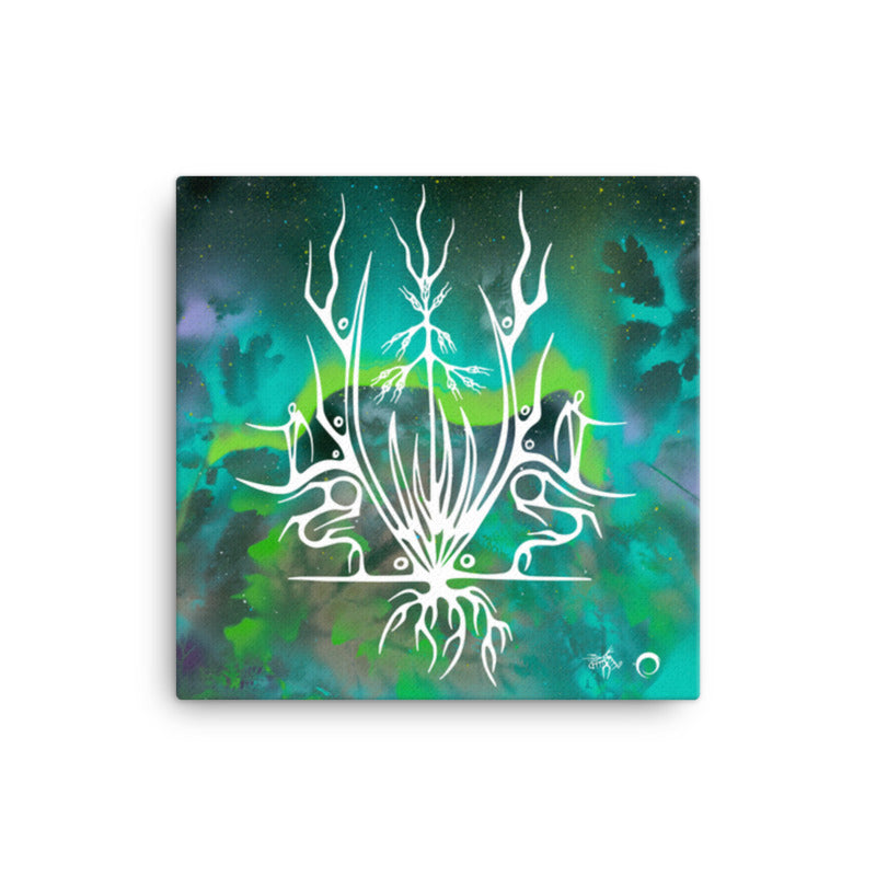 Sweet Grass Canvas Print by Miigizi