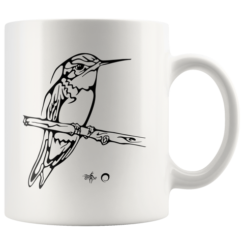 Hummingbird Mug by Miigizi
