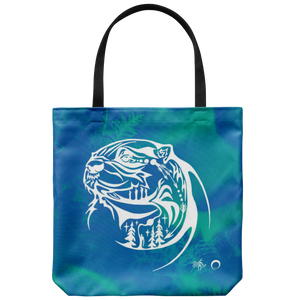 Otter Tote Bag by Miigizi