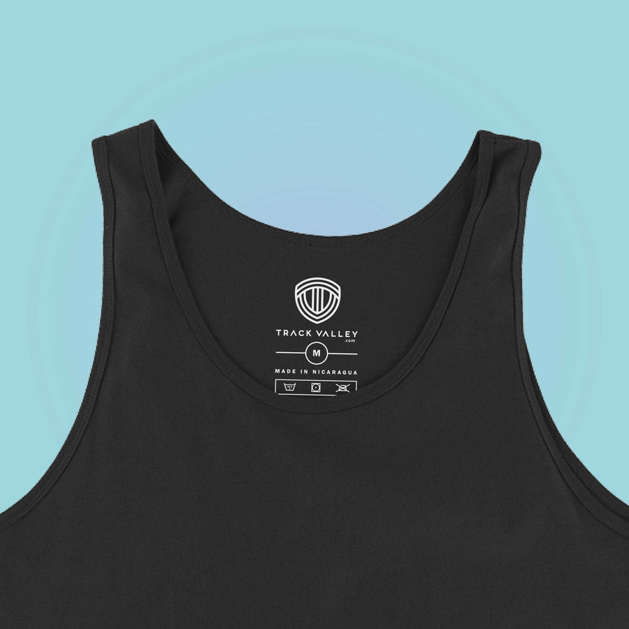 INSIDE LABEL TRACK LOVE WOMEN'S TANK