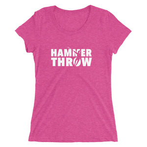 HAMMER THROW WOMEN'S T-SHIRT PINK