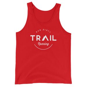 TRAIL RUNNING MEN'S TANK TOP RED