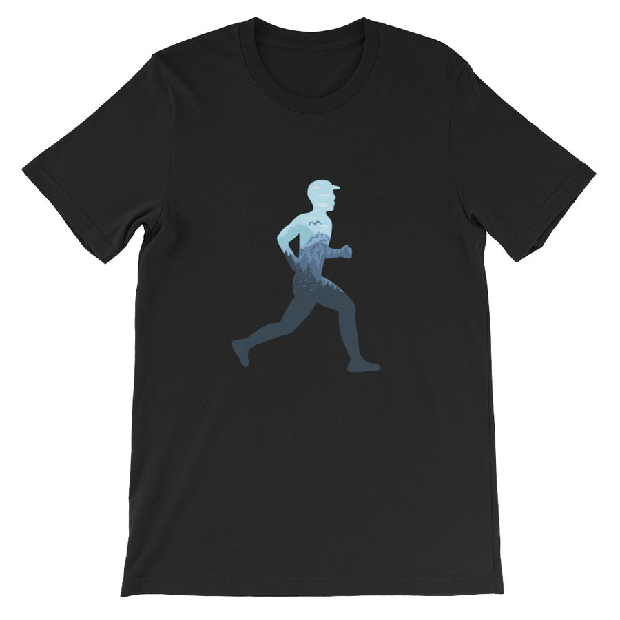 TRAIL RUNNING MEN'S T-SHIRT BLACK