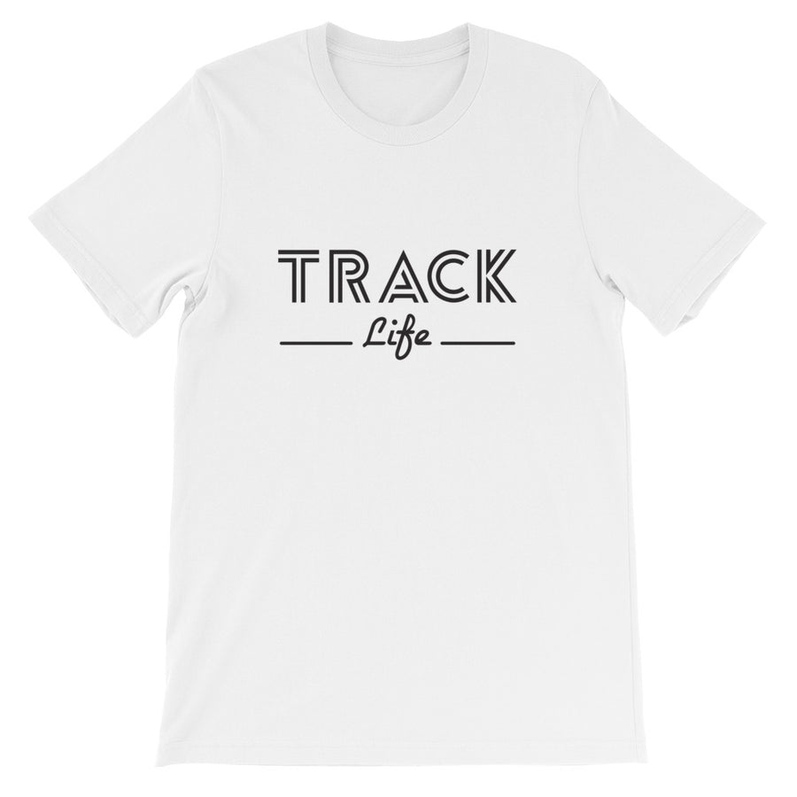 TRACK LIFE MEN'S T-SHIRT WHITE