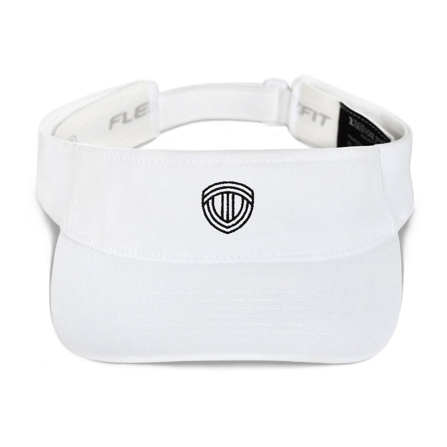 TRACK VALLEY VISOR WHITE